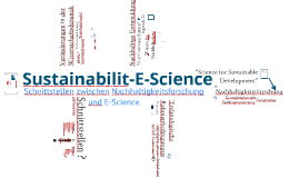 Sustainabilit-E-Science