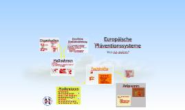 Europäische Präventionssysteme verstehen
