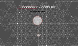 L'Ordinateur Vocabulary