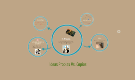 Ideas Propias Vs. Copia
