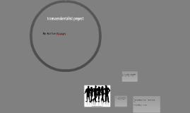 transcendentalist project