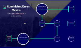 La Administración en México.