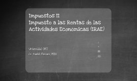 Presentacion de Impuestos II