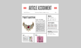 ARTICLE ASSIGNMENT
