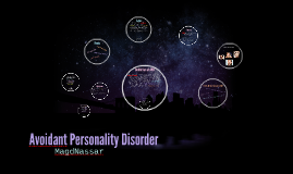 Copy of Avoidant Personality Disorder