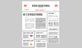 MERCADO FINACIERO PIRAMIDAL