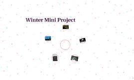 Winter Mini Project