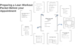 Preparing a Loan Workout Packet