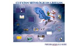 CUENTOS MITOLÓGICOS GRIEGOS