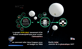 Projet HAB.CdeS - aux portes de l'espace
