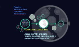 SEMINARIO ALEMAN 2016