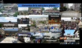 Elementos de la estructura urbana