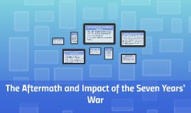 The Aftermath and Impact of the Seven Years' War