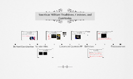 Copy of American Military Traditions, Customs, and Courtesies