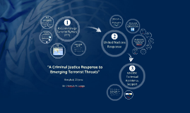 """[FTF] """"A Criminal Justice Response to Emerging Terrorist Threats"""""""