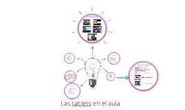 Las tablets en el aula