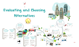 Evaluating and Choosing Alternatives