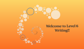 Welcome to Level 4 Writing!!