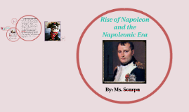 Rise and Fall of Napoleon Bonaparte