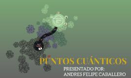 PUNTOS CUANTICOS
