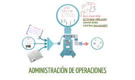 Copy of ADMINISTRACION DE OPERACIONES