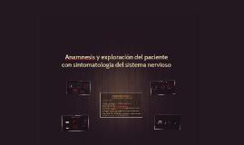 Anamnesis y exploración del paciente