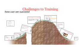 Challenges to Training