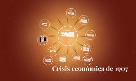 Crisis económica mundial de 1907