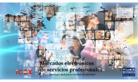 Mercados electrónicos