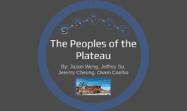 The Peoples of the Plateau