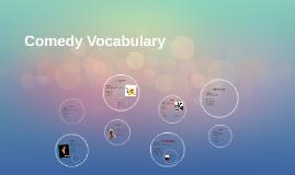 Comedy Vocabulary