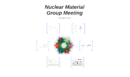 Nuclear Material Group Meeting