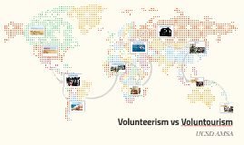 UCSD AMSA Volunteerism vs Voluntoursim
