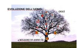 Copy of Evoluzione dell'uomo Martina, Matteo, Giada e Federico