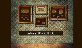 Artes s. IV - XIII d.C.