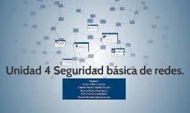 Copy of Unidad 4 Seguridad básica de redes.