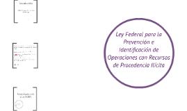 Introducción a la Ley Federal PIORPI