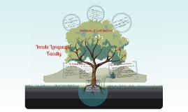 Copy of Noam Chomsky: Innate Language Faculty