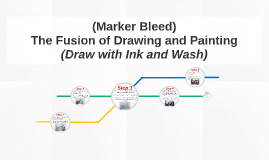 The Fusion of Drawing and Painting