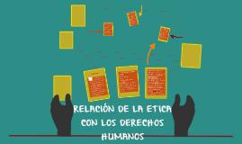 Copy of RELACIÓN DE LA ETICA CON LOS DERECHOS HUMANOS
