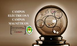 CAMPOS ELECTRICOS Y CAMPOS MAGNETICOS