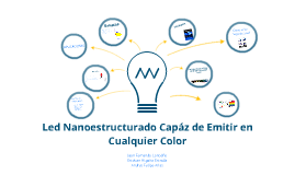 Led Nanoestructurado