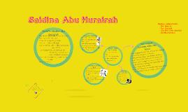 Saidina Abu Hurairah