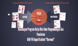 Rancangan Program Kerja Biro Ilmu Pengembangan dan Penalaran