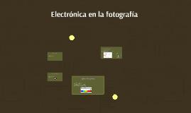 Electrónica en la fotografia