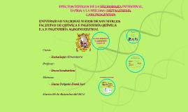 EFECTOS TOXICOS DE LA MICROBIOTA INTESTINAL