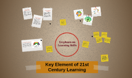 Key Element of 21st Century Learning