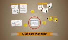 Copy of Santeador 2014 | Guía para Planificar