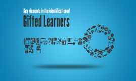 Identification of Gifted Learners