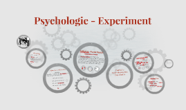 Psychologie- Experiment